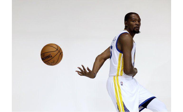 Warriors buscan reivindicación, ahora con Durant