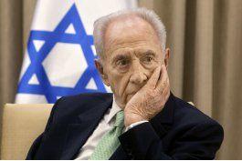prensa israeli: fallece expresidente shimon peres