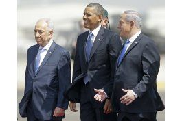 lideres mundiales lloran a peres, considerado hombre de paz