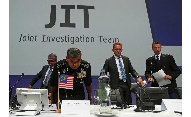 Investigadores: Avión malasio fue derribado por misil ruso