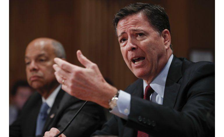Jefe del FBI rinde cuentas ante el Congreso