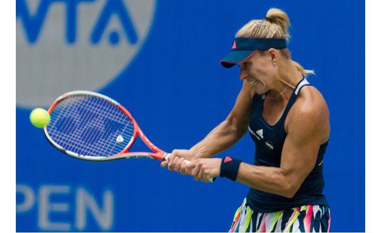 Kerber es eliminada en tercera ronda en Wuhan