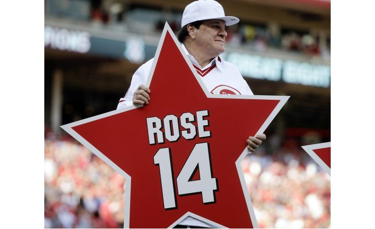 Rose solicita a Salón de la Fama ser candidato a exaltación