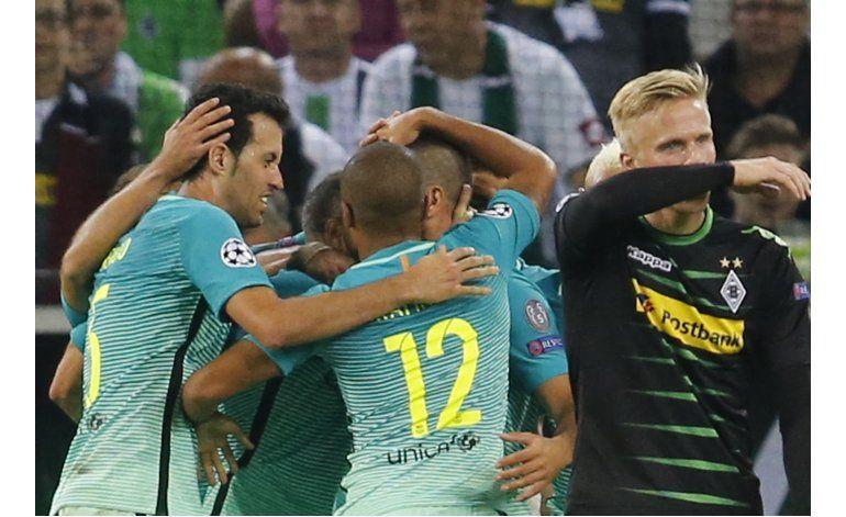 Barcelona remonta y gana, Atlético supera a Bayern