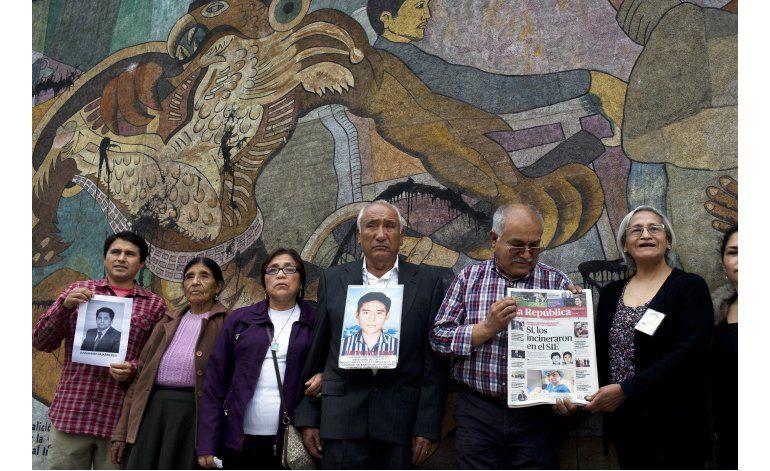 Fallo judicial: detenidos fueron incinerados bajo Fujimori