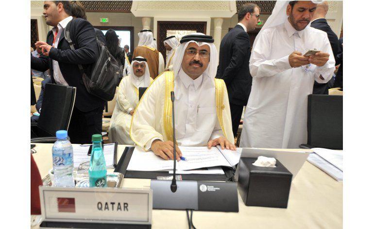 OPEP logra acuerdo preliminar sobre producción de crudo