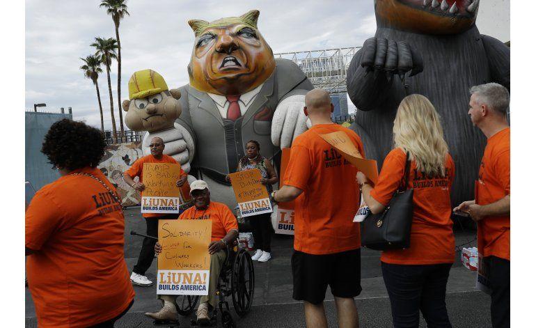 Sindicalistas promueven boicot a empresas de Trump
