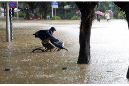 32 personas desaparecidas en china tras paso de tifon