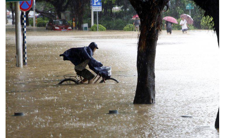 32 personas desaparecidas en China tras paso de tifón
