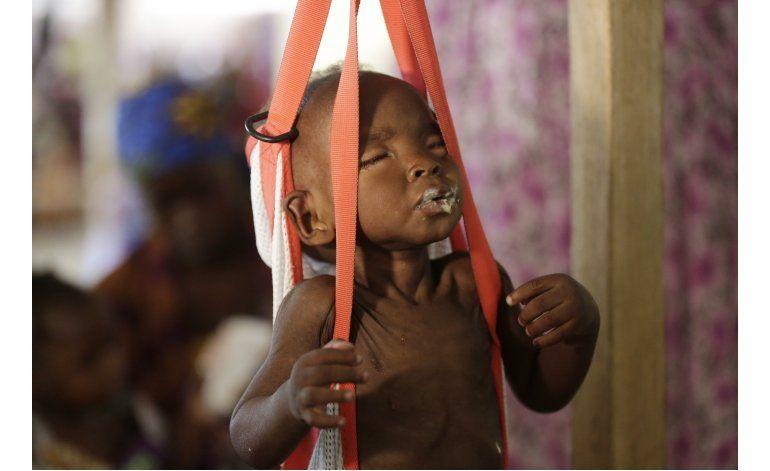 ONU: 75.000 niños podrían morir de hambre en Nigeria