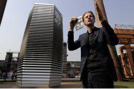 artista holandes crea torre que limpia el aire en china