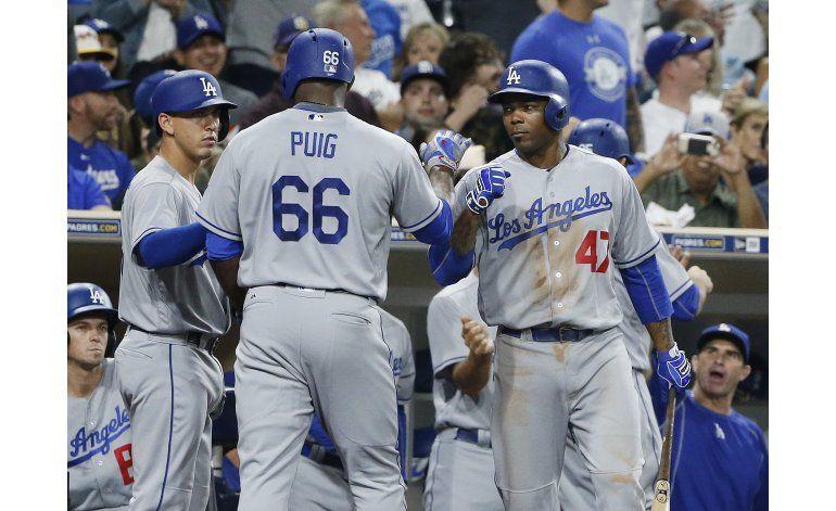 Pederson lidera a Dodgers en victoria por 9-4 sobre Padres