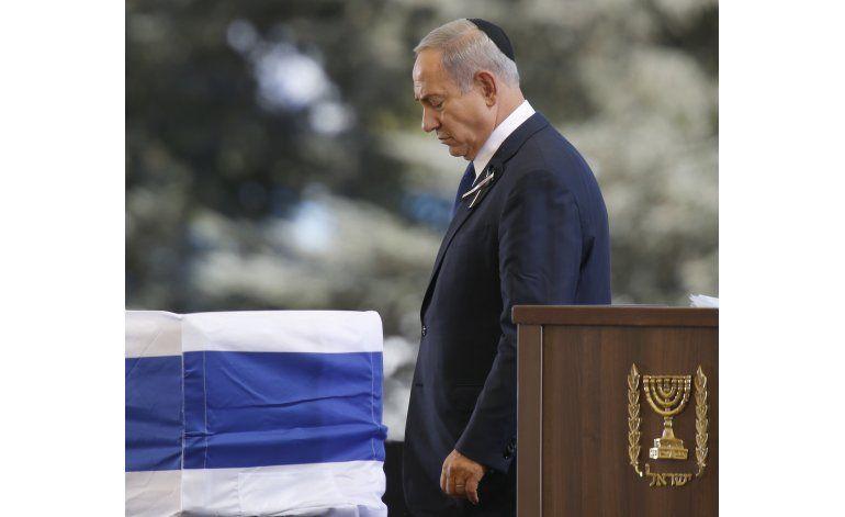 Shimon Peres es sepultado en emotiva ceremonia