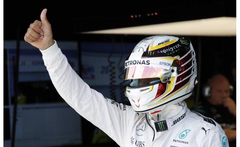 Hamilton domina las prácticas del GP de Malasia