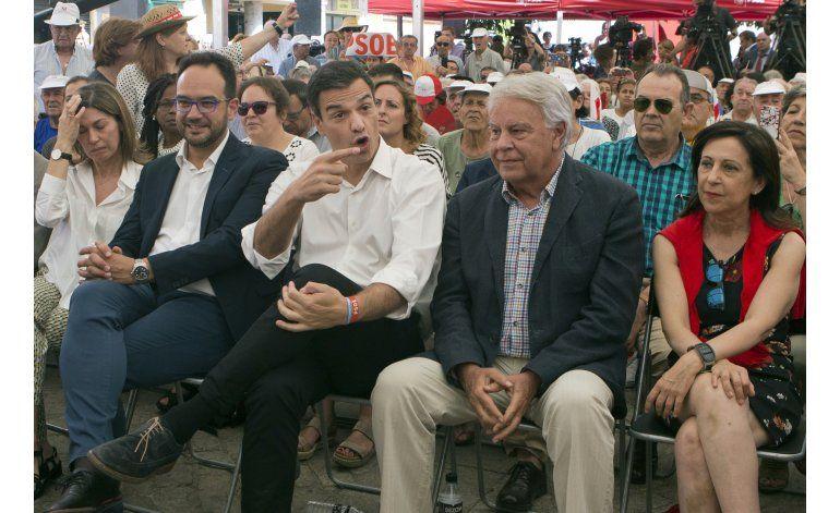 Se agravan tensiones dentro del partido socialista español