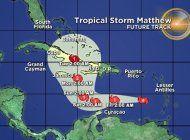 cuba, pendiente de la trayectoria del huracan matthew