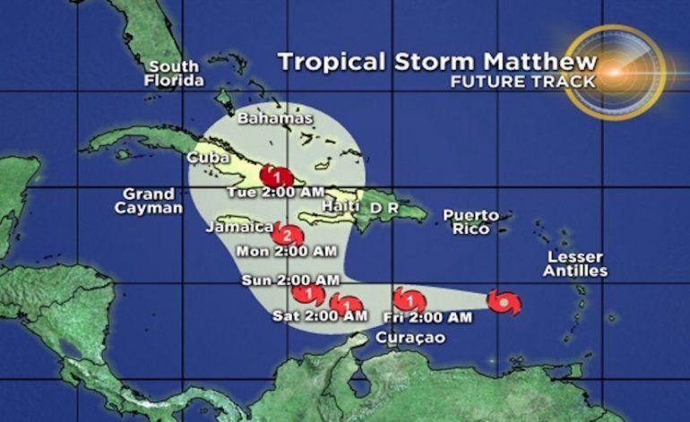 Cuba, pendiente de la trayectoria del huracán Matthew