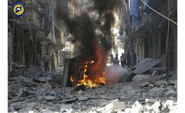 Grupo sirio: Ofensiva aérea rusa mató a 9.300 el último año