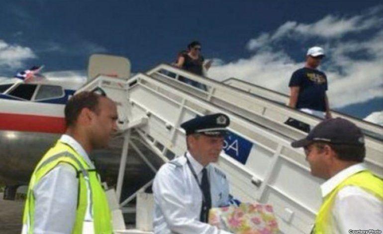 Cuba permitirá presencia de alguaciles en vuelos comerciales directos