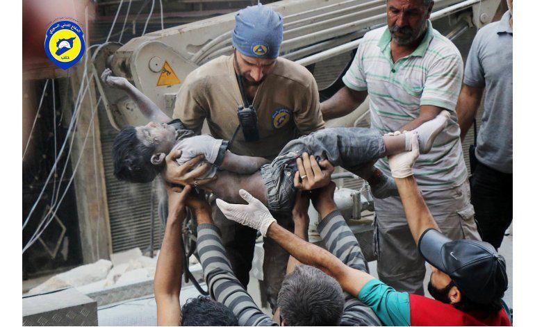 Los niños se llevan la peor parte de la ofensiva en Alepo
