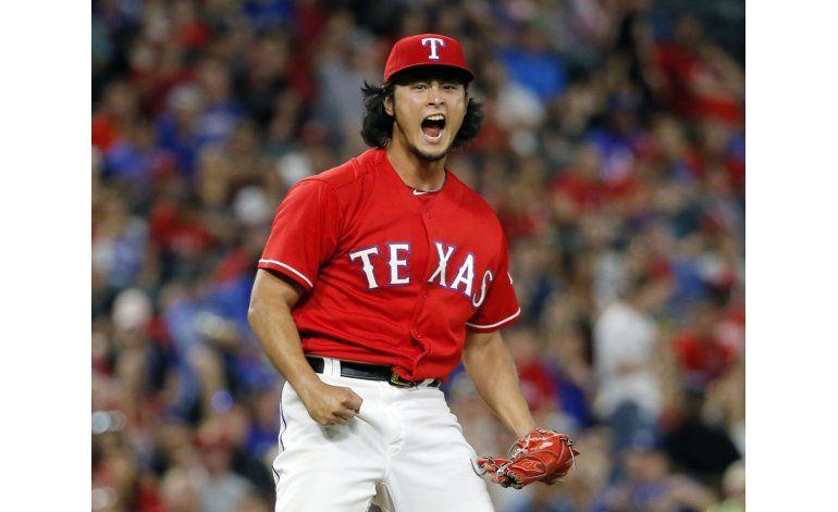 Darvish brilla en triunfo de Rangers 3-1 sobre Rays