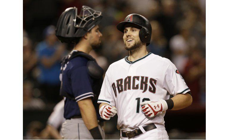 Arizona derrota a Padres con jonrones de Goldschmidt, Owings