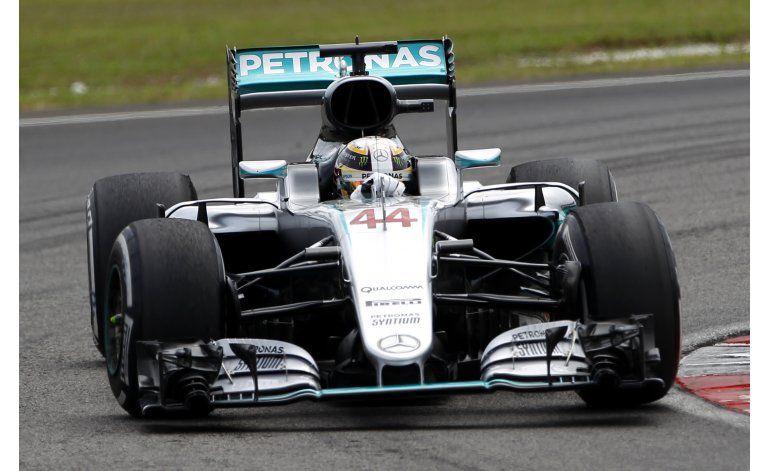 Hamilton saldrá desde la pole en el GP de Malasia