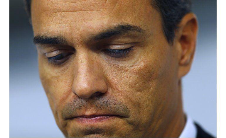 El PSOE echa a su líder Pedro Sánchez