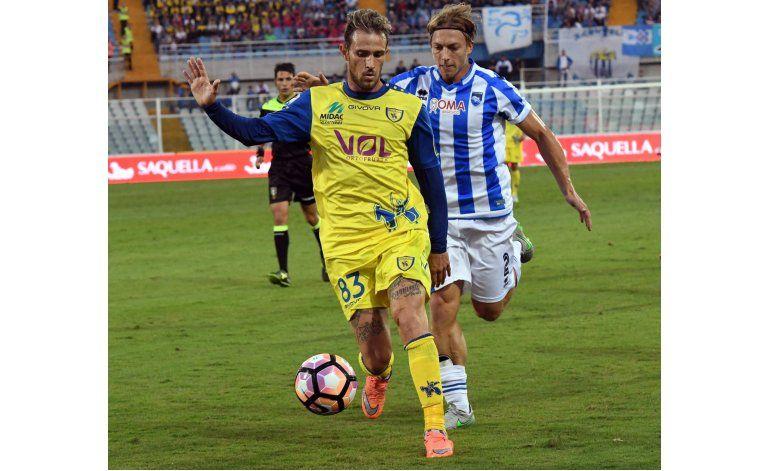 Chievo sigue con buena racha y vence 2-0 a Pescara
