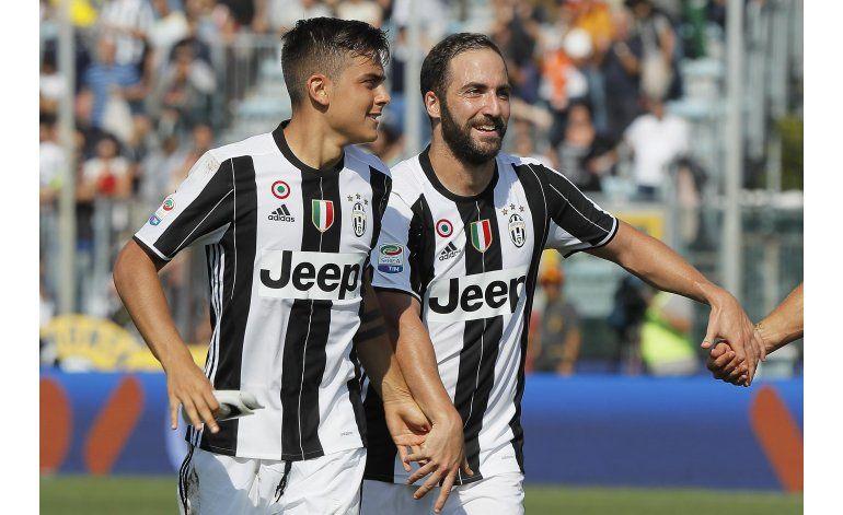 Higuaín anota 2 en triunfo de Juventus