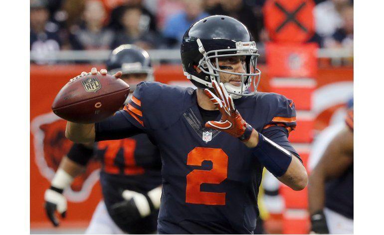 Hoyer guía el 1er triunfo de Bears, 17-14 ante Lions