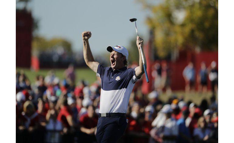 EEUU conquista la Copa Ryder por primera vez desde 2008