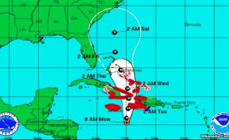 Matthew avanza hacia Cuba con poder de categoría 4