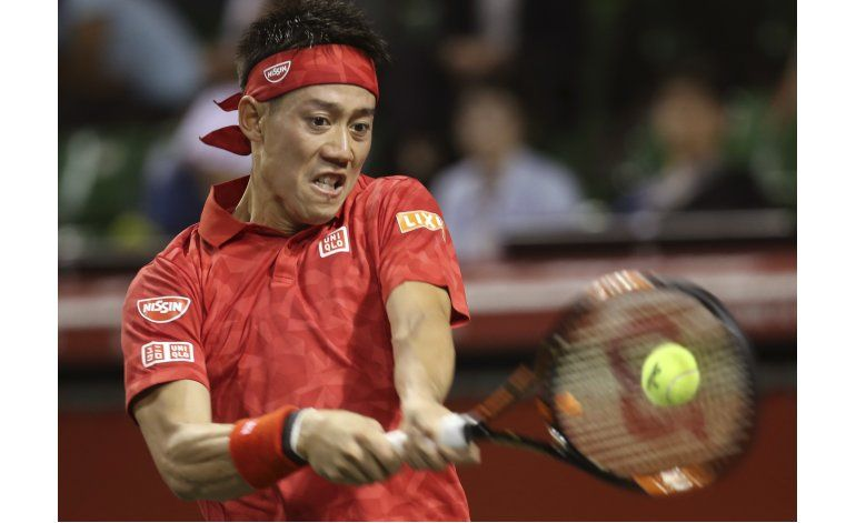 Nishikori vence a Young en 3 sets en 1ra ronda en Japón