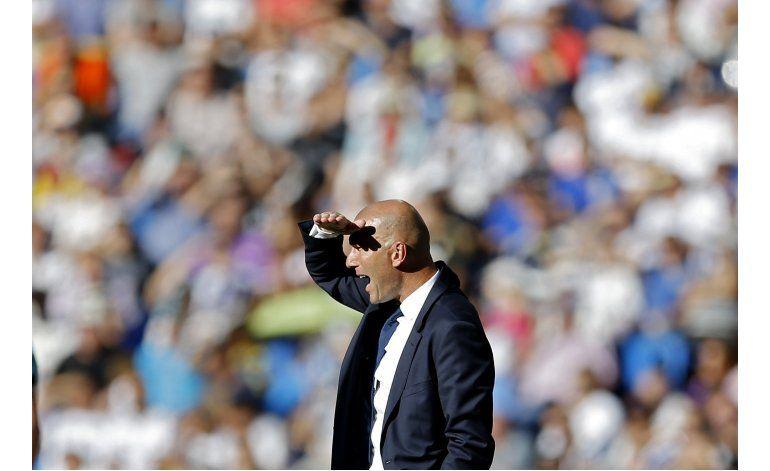 Zidane busca respuestas a pobres resultados del Real Madrid