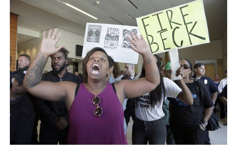 Policía de Los Ángeles difunde video de tiroteo