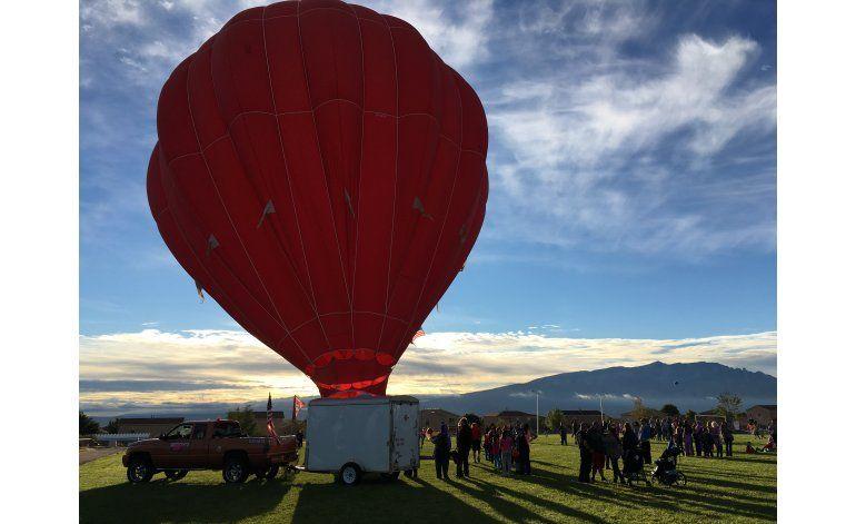 Suspenden fiesta de globos en Albuquerque tras percances