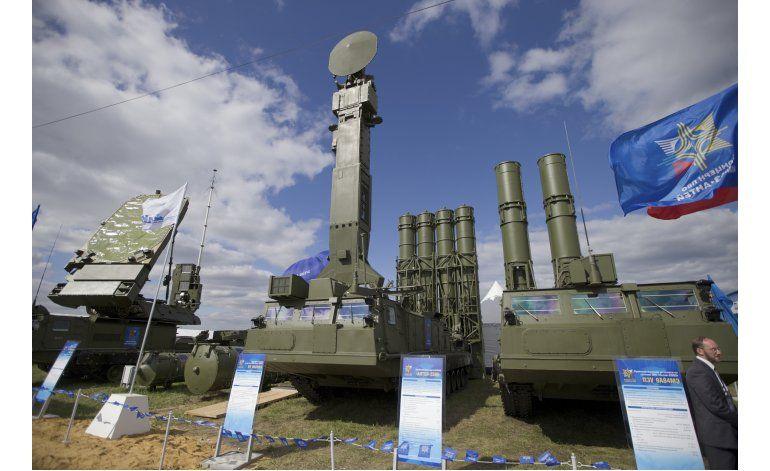 Rusia envía sistemas de misiles antiaéreos a Siria