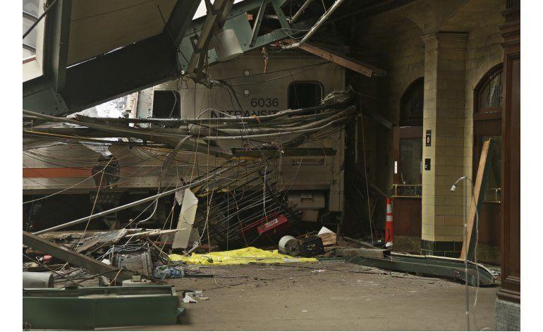 Funcionario: Tren que chocó iba a velocidad excesiva