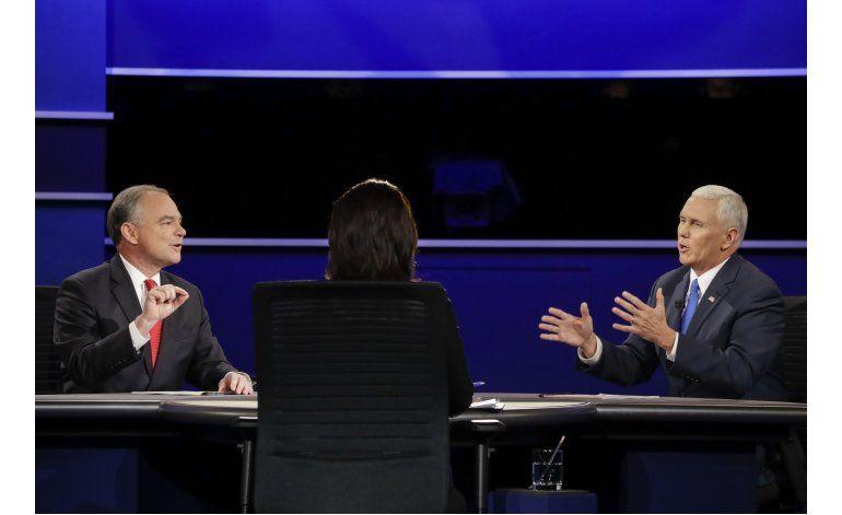 LO ULTIMO: Pence y Kaine chocan sobre la inmigración