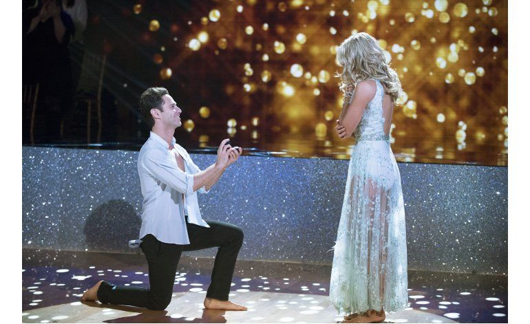 Bailarines se comprometen en Dancing with the Stars