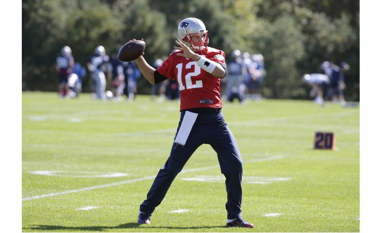 Tras purgar castigo, Brady se concentra en Browns