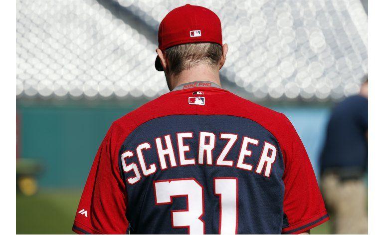 Scherzer busca mostrar intensidad frente a Dodgers