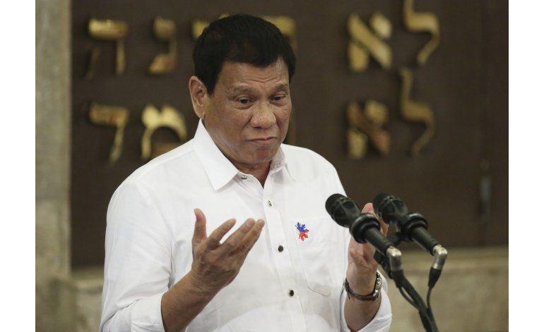 Encuesta: Aprobación de Duterte en Filipinas es muy buena