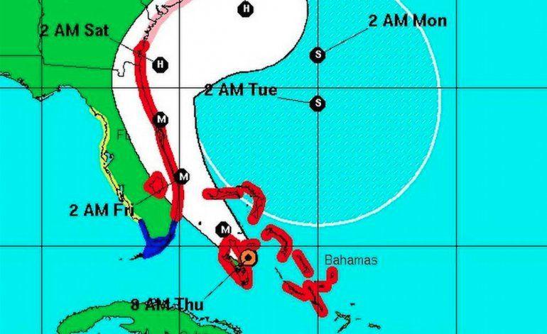 Las primeras ráfagas del huracán Matthew tocan el sur de la Florida