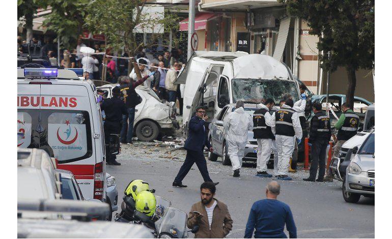 Explosión deja al menos 10 heridos en Turquía