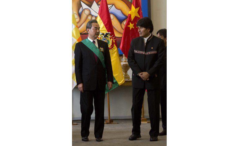 China anuncia multimillonario crédito en respaldo a Bolivia
