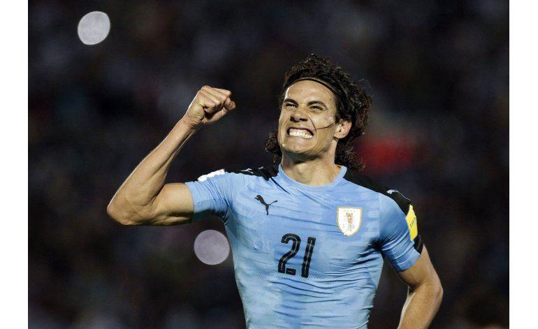 Uruguay golea 3-0 y rompe maldición venezolana