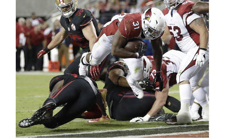 Cardinals aprovechan errores de 49ers y se imponen