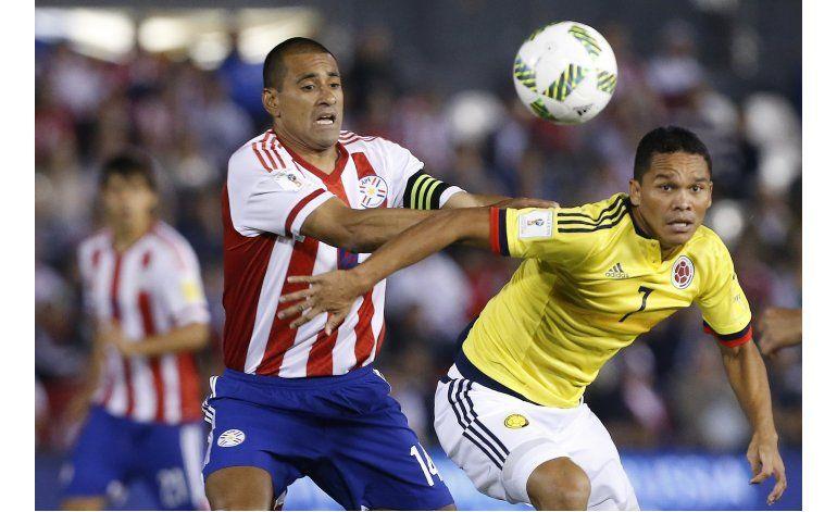 Colombia consigue triunfo agónico y valioso en Paraguay